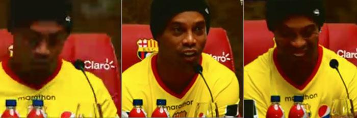 Ronaldinho en Barcelona de Ecuador