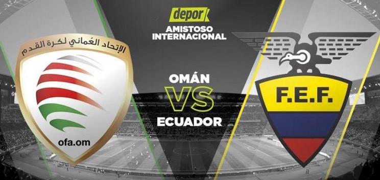Ecuador vs Oman en vivo